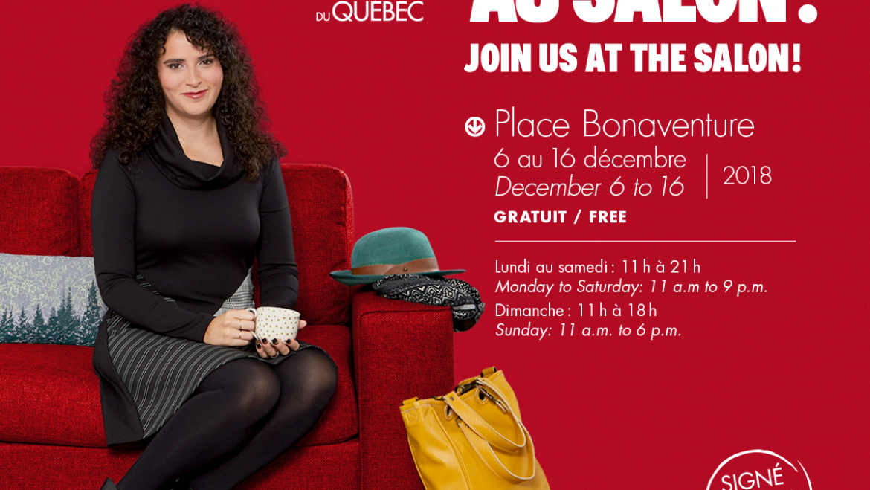 Passez la porte du Salon des métiers d'art du Québec 2018!