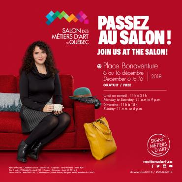 Red Lips Talk | Passez la porte du Salon des métiers d'art du Québec 2018!
