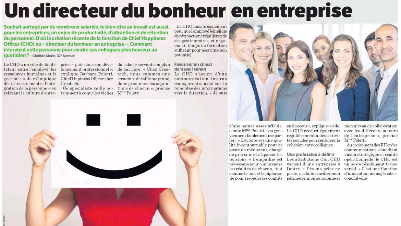 24heures Montréal | Que fait le Chief Happiness Officer ?